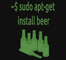 Linux sudo apt-get install beer by boscorat