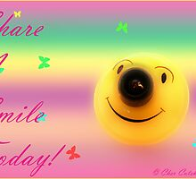 Share a Smile Today by Cher Cutshaw