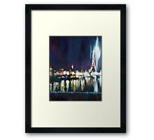 Paris at night part one Framed Print