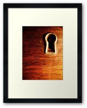 Keyhole by Chris Richards