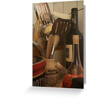 Culinary Instruments Greeting Card