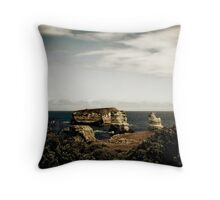 Bay of Martyrs, Great Ocean Road, Victoria Throw Pillow