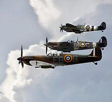 Super Spitfires  by J Biggadike