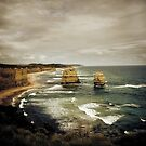 Twelve Apostles at Gibsons Beach, Great Ocean Road, Victoria by Samantha Cole-Surjan