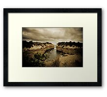 Loch Ard Gorge, Great Ocean Road, Victoria Framed Print