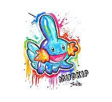 Cute Mudkip Spraypaint Tshirts + More! ' Pokemon ' by Jonny2may