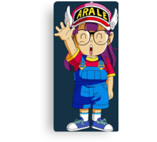Arale DRAGON BALL Canvas Print