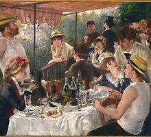 Renoir - Le déjeuner des canotiers (Luncheon of the Boating Party) by forthwith