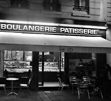 Paris, Bakery at Night by Andrew Reid Wildman