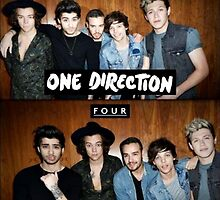 One Direction FOUR Album Cover Art by lalsim