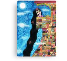Rapunzels Moon Canvas Print