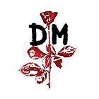 Depeche Mode : Violator DM Paint Black  by Luc Lambert