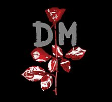 Depeche Mode : Violator DM Paint Grey by Luc Lambert