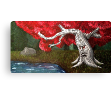 Game of Thrones -- Weirwood Heart Tree Canvas Print