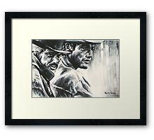 Butch & Sundance Framed Print