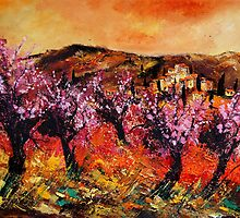 Blooming cherrytrees by calimero