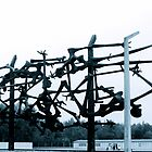 Dachau Concentration Camp Memorial by Salvatore Testa