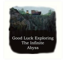 Infinite Abyss - Garden State Art Print
