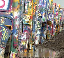 Cadillac Ranch by amaphotoman