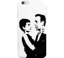 Audrey Hepburn And Humphrey Bogart iPhone Case/Skin