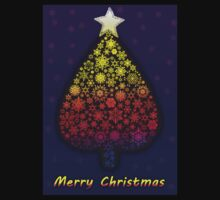 Colored Christmas tree Kids Clothes