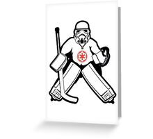 Imperial Goalie Greeting Card
