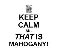 Calming Mahogany-Black by Sireeky