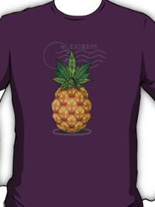 Pineapple Kush Marijauna Strain Art T-Shirt