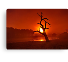 """Shrouded Dawn"" Canvas Print"