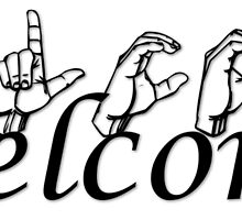 Welcome in ASL by CustomASL