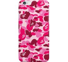 Bape Camo (Pink) iPhone Case/Skin