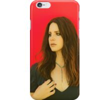 Blood Red Jam iPhone Case/Skin