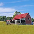 The Red Barn by Graeme  Hyde