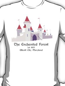 Enchanted Forest, Castle T-Shirt