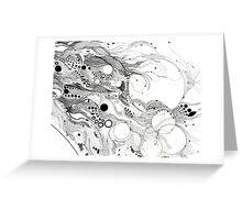 underwater creatures Greeting Card
