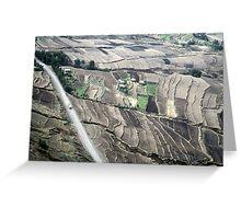 ethiopian highlands Greeting Card