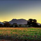 Stirling Sunset by Damiend