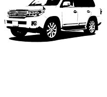 Toyota Land Cruiser by garts