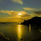 Little Bay Moonrise by Michiel Reuvecamp