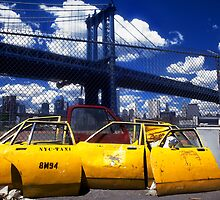 New York Taxi Doors by laurencedodd