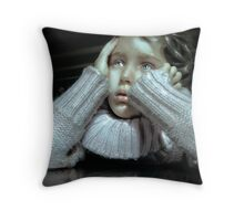 Anguish Throw Pillow