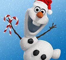 Christma's Olaf by fernandavilemos
