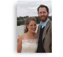 Yvette and Phil Canvas Print