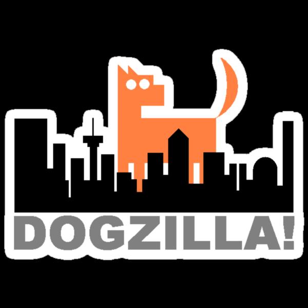 Dogzilla! Get down ya mongrel! by rufflesal