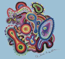 Amoeba Art by Chelsea Kerwath