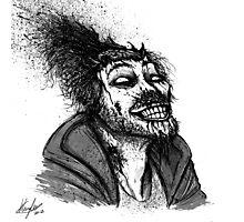 Zombie Michael Photographic Print