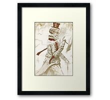 Dead Man Walking... Framed Print