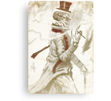 Dead Man Walking... Canvas Print