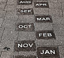 Calendar Walk © by Ethna Gillespie