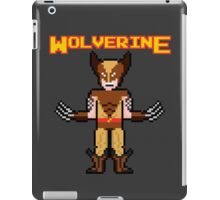 8Bit Wolverine (Brown) iPad Case/Skin